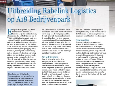 Rabelink StreekMagazine januari