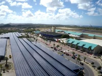 Pfixx Solar Park Aruba Airport