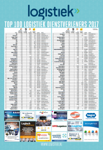 Top 100 Logistiek 2017