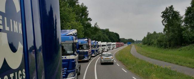 Rabelink Logistics @ Fatima Convooi stoet