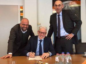 Ondertekening koopcontract gemeente Doetinchem - Rabelink Logistics